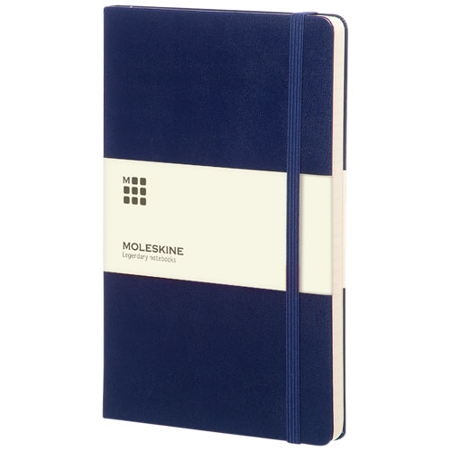 Moleskine Classic Hard Cover Large gelinieerd donkerblauw